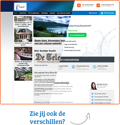 Nieuwe website HetDoekje.nl